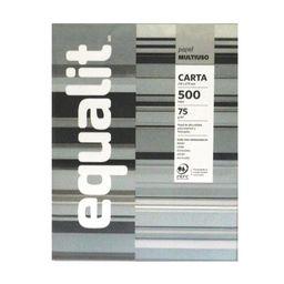 Papel Fotocopia Multiuso Carta 500 Hojas Equalit