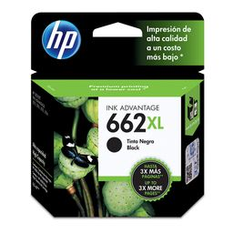 Cartridge Hp 662 Xl Negro