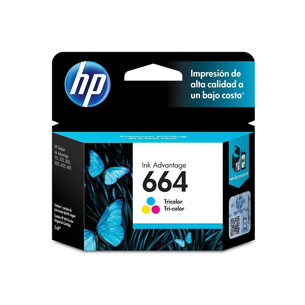 Cartridge Hp 664 Color
