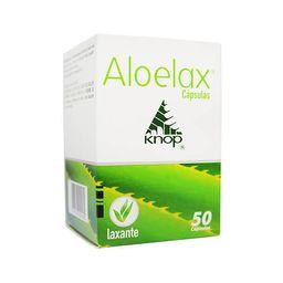 Aloelax X50 Frasco Caps.