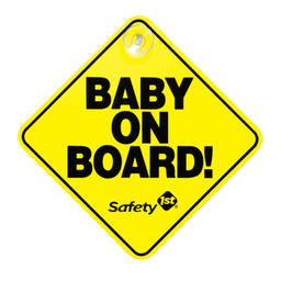 Safety 1 St Letrero Baby on Board