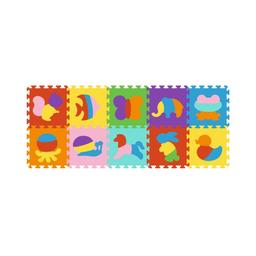 Infantil Rompecabezas Puzzle Eva Animales (Incluye 10 Piezas)