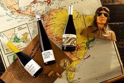 Trío de vinos blancos de Chile
