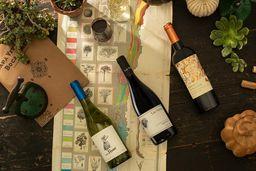 Trío de vinos orgánicos