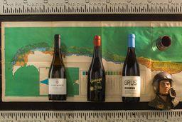 Trio de vinos de Mar a Cordillera