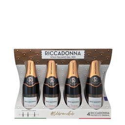 Promo: 4 Pack Espumante Riccadonna Prosecco 200ml