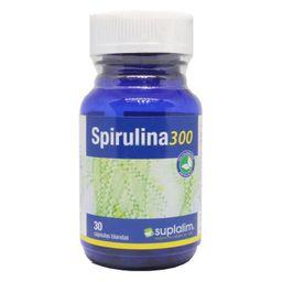 Spirulina 300 X 30 Capsulas Suplalim