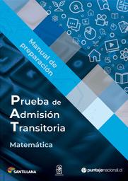 Manual Pat Matemática Novedad 2020