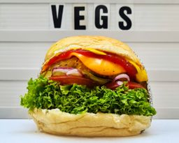 Vegs Cheese Burger
