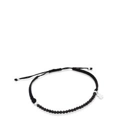 Tous Pulsera Color de Plata y Cordón en Color Negro (515431680)