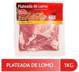 Super Cerdo Plateada de Lomo