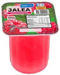 4 x Pote Jalea Frambuesa 100 g, Lider