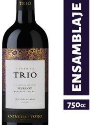 Concha Y Toro Vino Tinto Trio Merlot
