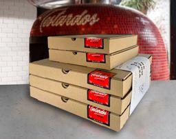Pizza Party Omnívoro para 5