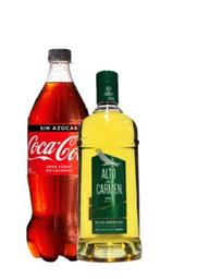 Promo: Alto Del Carmen 1 L + Coca Cola 1,5 L