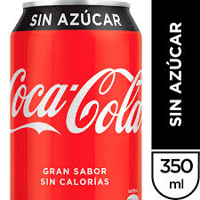 Coca-Cola sin Azucar 350 ml