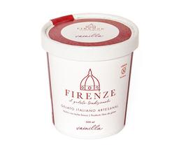 Gelato artesanal vainilla Firenze, 500 ml