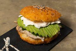 Burger Pollo Teriyaki
