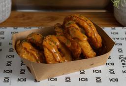 Onion Rings con salsa local