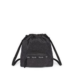 Mochila Tous Plana Kaos Mini Sport negro-gris (95891273)