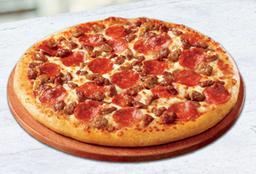 ¡Pizza familiar Pepperoni, Italiana o Meaty!