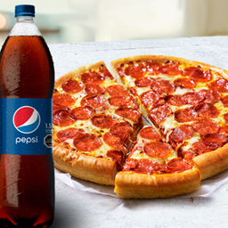 Promoción Pizza Familiar + Bebida 1,5L