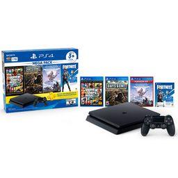 PS4 Consola 1TB MEGA 6