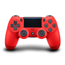 Control PS4 DUALSHOCK 4 (CUH-ZCT2U) - MAGMA RED - LATAM PS4