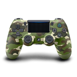 Control PS4 DUALSHOCK 4 (CUH-ZCT2U) - GREEN CAMOUFLAGE - LATAM P