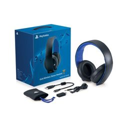 PS4 HEADSET GOLD WIRELESS STEREO