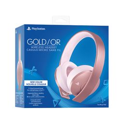 PS4 HEADSET ROSE GOLD WIRELESS STEREO