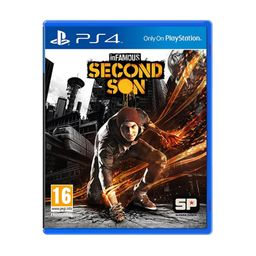 PS4 Juego INFAMOUS: SECOND SON - HITS - LATAM PS4