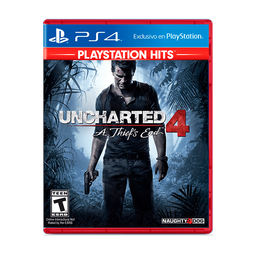 PS4 Juego UNCHARTED 4: A THIEF'S END - HITS - LATAM PS4