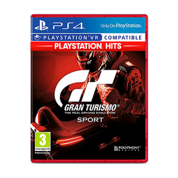 PS4 Juego GRAN TURISMO SPORT - HITS - LATAM PS4