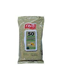 Fibro Toallitas Wipes Pouch Limon 50 un,