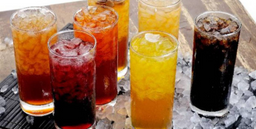 Refresco de agua frutal