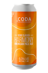 4-Pack Harmony American Pale Ale Lata 470 cc