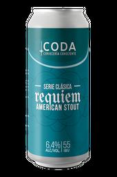 4-Pack Requiem American Stout Lata 470 cc