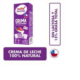Crema Sin Lactosa 200 ml