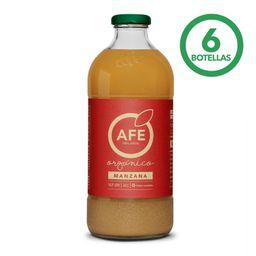Jugo AFE Manzana Organica 1000cc 6Un