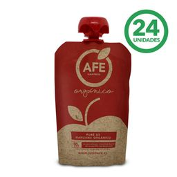 Pure AFE Manzana  Organico Caja 90g 24Un