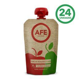 Pure AFE Manzana - Pera Caja 90 g 24Un