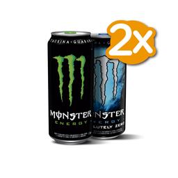 Promo 2x Monster Variedades 473 ml
