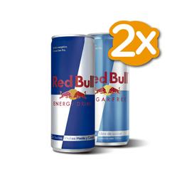 Promo 2x Redbull Variedades 250 ml