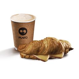 Promo Croissant + Café Mediano Variedades