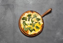 Pizza individual 4 Quesos