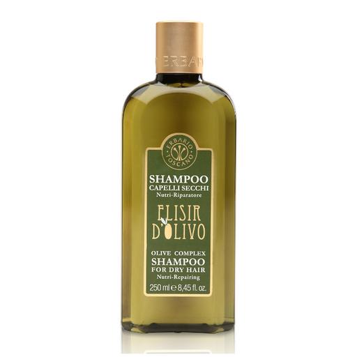 Erbario Toscano Shampoo Para Cabello Seco Elisir D'Olivo 250mL