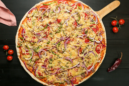 Pizza Torte Carne Di Pollo