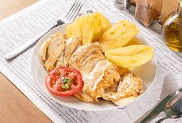 Pollo Saltado + Arroz