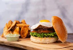 Special Texas burger